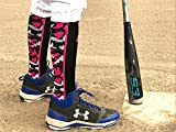 MadSportsStuff Pink Ribbon Awareness Camo OTC Socks