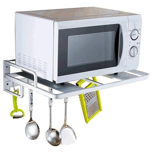 PENGFEI Estante De Cocina Microondas Rejilla Del Horno Montado En ...