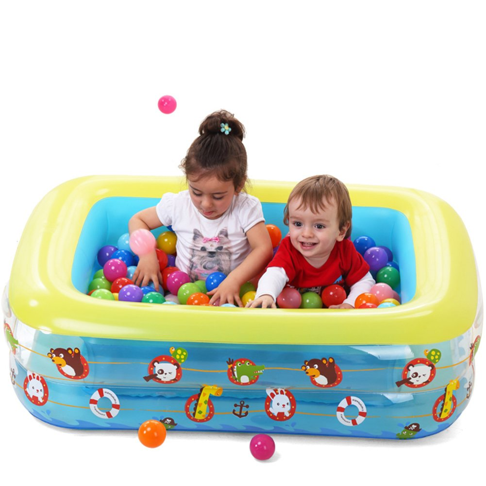 Baby Schwimmbad/Baby-Pool/Aufblasbare gepolstert Kinderbecken/Adult Freizeitbad/Große Familien-Pool-C