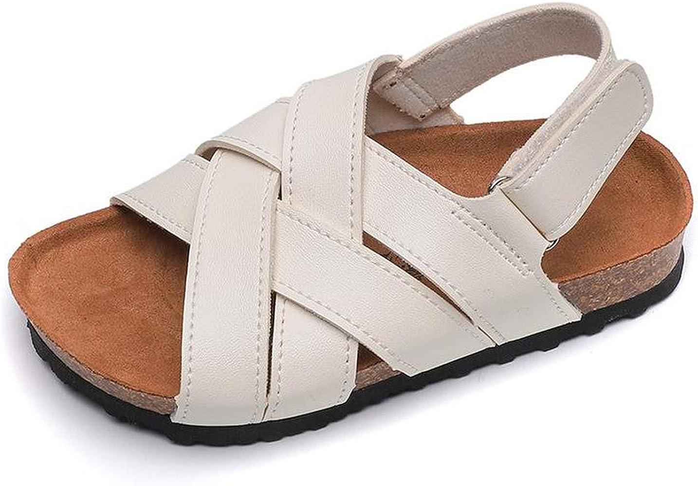 Children Cork Sandals Baby Girls Shoes