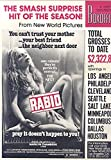 Boxoffice Magazine August 1, 1977 (Rabid)