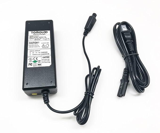 Amazon.com: TOMOLOO - Cargador de batería para K1, K2, K3 ...