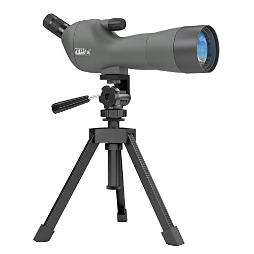 Emarth Waterproof Angled 20-60x60AE Spotting Scope with Tripod (budget friendly)