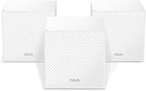 Tenda MW123PK AC2100 Tri-Band Wireless and Ethernet Whole-Home Mesh Wi-Fi System