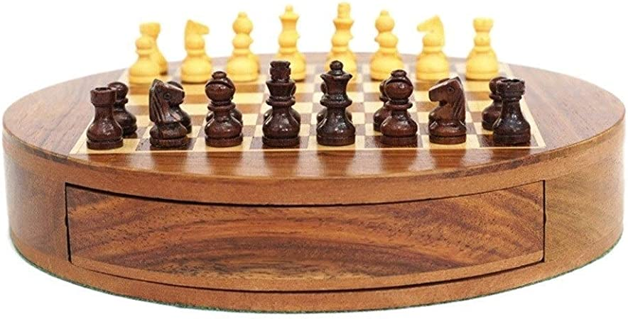 Juego de Ajedrez 32 Unids/Set Mesa de Madera Ajedrez Juegos de ajedrez Chinos Ajedrez magnético Cumpleaños de Navidad Regalos Premium Juego de Mesa de Entretenimiento Ajedrez (tamaño : L): Amazon.es: Hogar