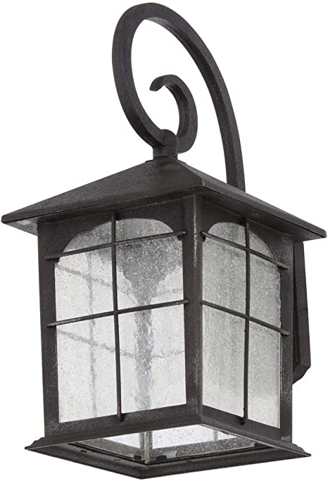 Home Decorators Collection Y37030aled 292 Aged Iron Outdoor Led Wall Lantern Amazon Com