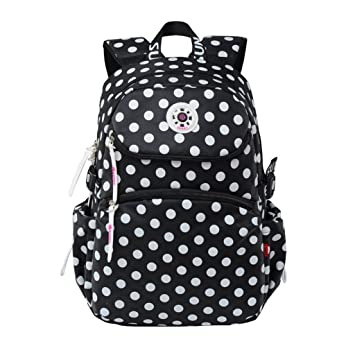 Girl School bags Backpacks Child Polka Dot Daypacks Waterproof Large  Capacity Outdoor Bag for Students GudeHome  Amazon.co.uk  Baby 034c7f8f35