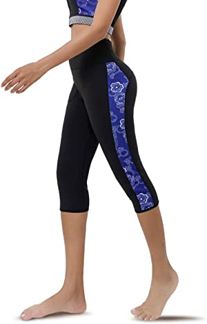CtriLady High Waist Women Neoprene Wetsuit Pants 2.5mm UV Sun Protective Leggings Diving Snorkeling Surf Swimming Water Sports Tights