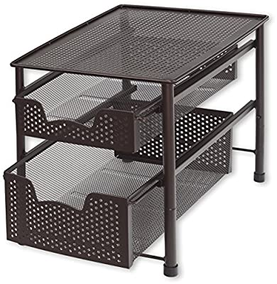 Stackable 2 Tier Sliding Drawer