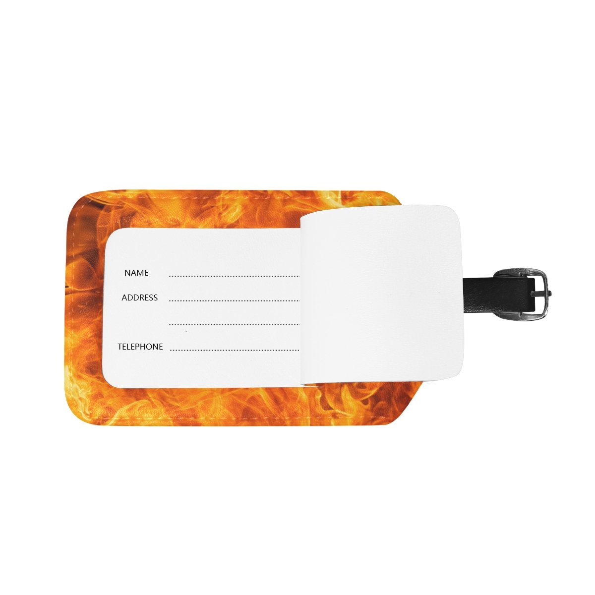 Amazon.com: My Daily Blaze el fuego llama etiqueta de ...