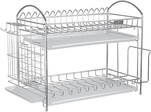 Amazon Com Nex Dish Drainer 304 Stainless Steel Kitchen 2 Tier