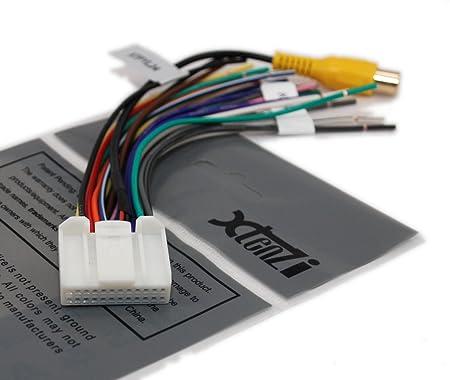 amazon com xtenzi harness for pyle 24 pin wire harness power plug rh amazon com