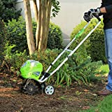 Greenworks 10-Inch 40V Cordless Cultivator with