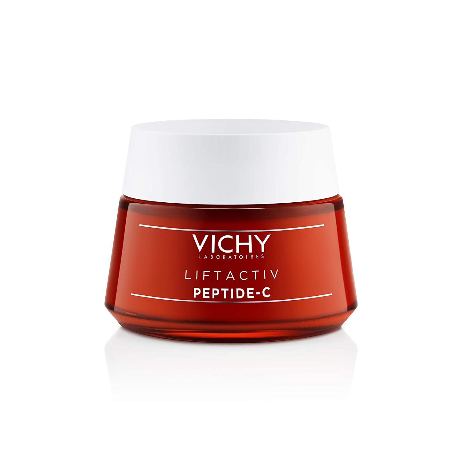 Vichy LiftActiv Peptide-C Anti-Aging Moisturizer, Vitamin C Face Cream with Peptides to Reduce Wrinkles, Firm and Brighten Skin