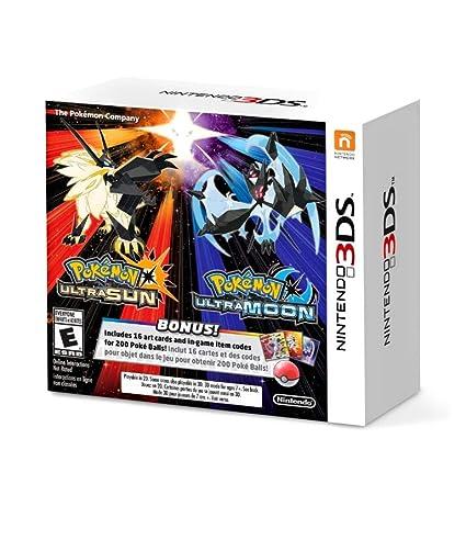 Pokemon Ultrasol y Ultraluna, 3DS
