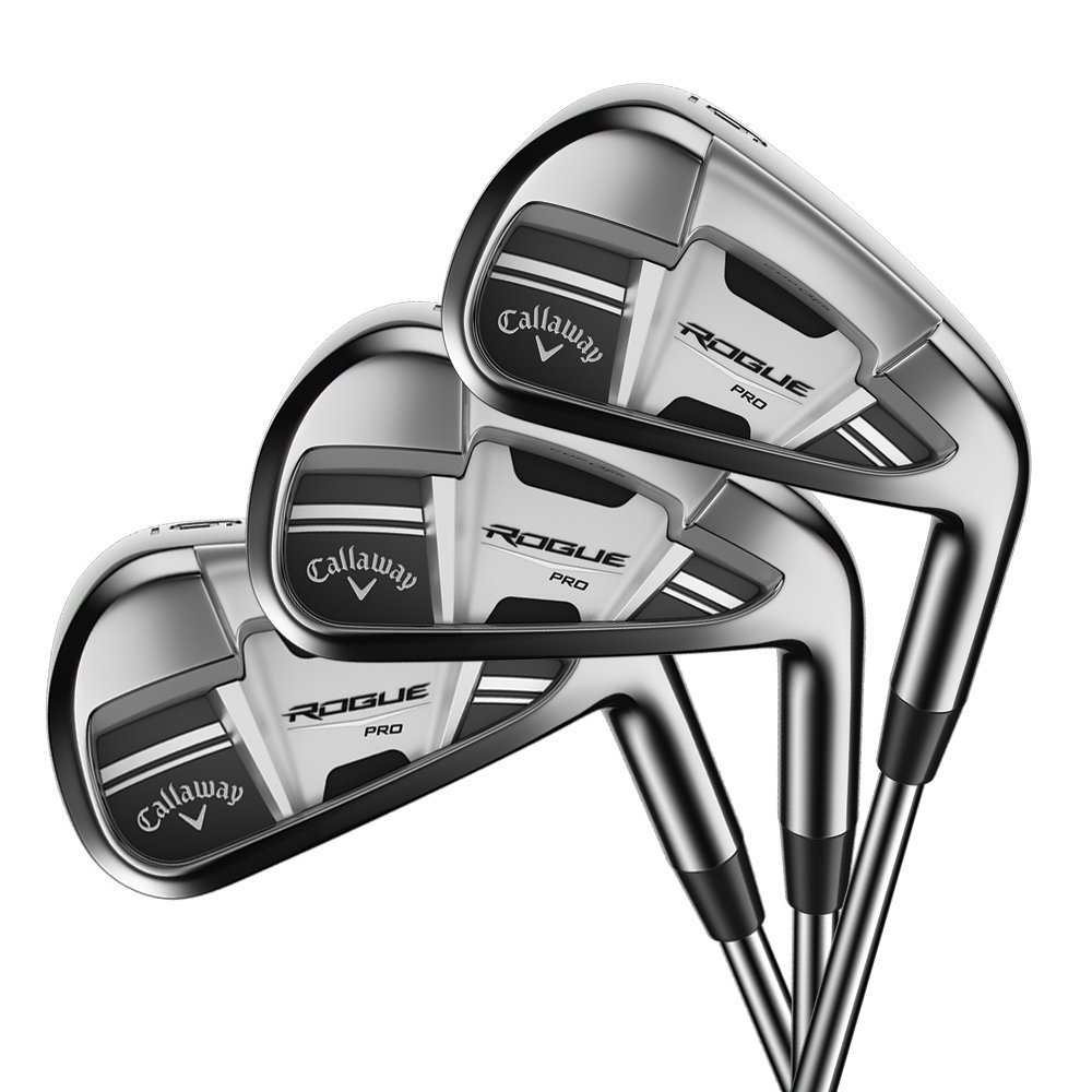 Callaway Rogue Pro Irons Steel Shaft 4PW