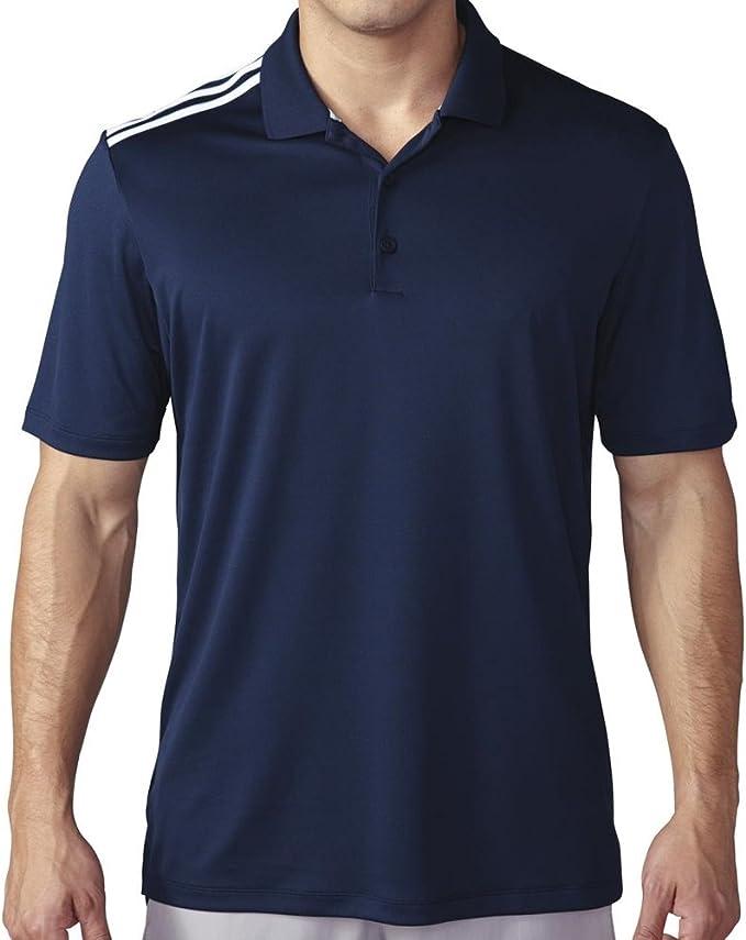 adidas Golf 3 Rayas Climacool Polo Camiseta de: Amazon.es ...