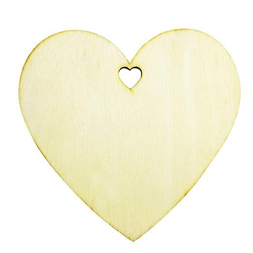 Opinioni per 50 placche decorative a forma di cuore di legno for Placche decorative per interni