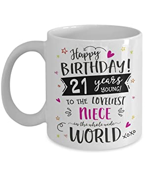 21st Birthday Gift For Niece Mug