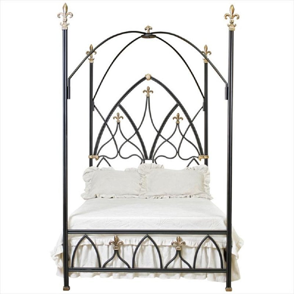 Amazon.com: Corsican 42908 Gothic Nights Canopy Bed King: Kitchen & Dining
