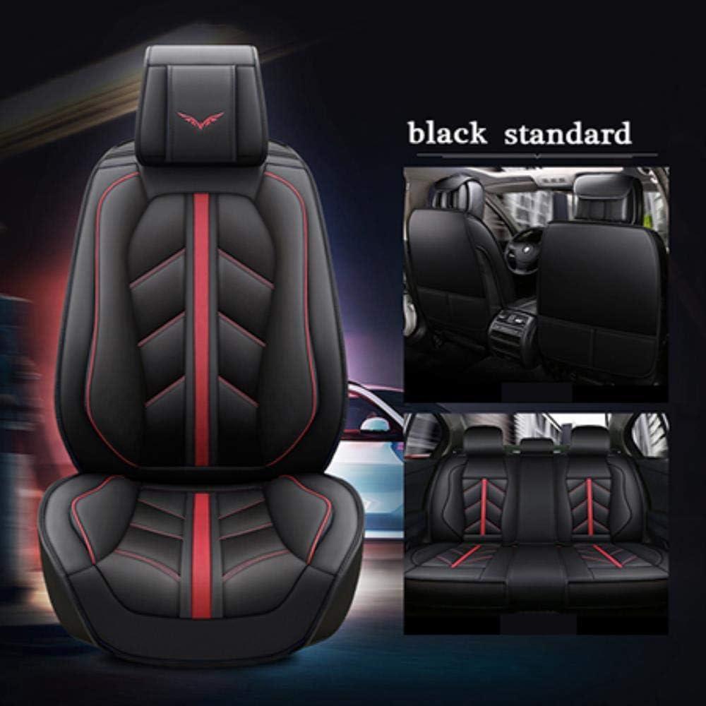 HIZH Sede di Copertura Auto Speciale in Pelle per Volvo S60L V40 V60 S60 XC60 XC90 XC60 C70 S80 S40 Accessori Auto Car Styling Nome del Colore Rosso Standard