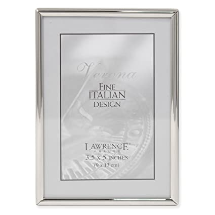 Amazon Lawrence Frames Simply Metal Picture Frame 35 By 5