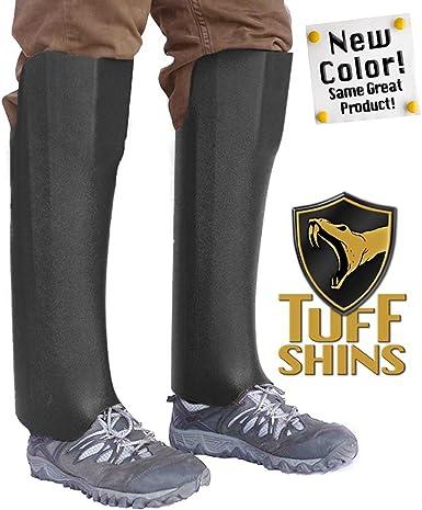 - one Size Tuff Shins Black Old Version was Olive Green Plastic Snake Leggings