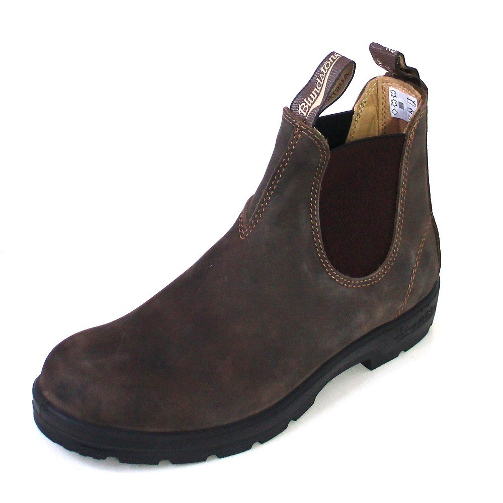 Blundstone Unisex Super 550 Series Boot BL585 Rustic Brown