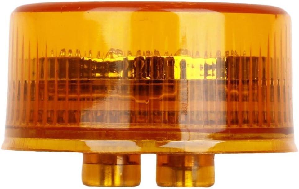 2 Round 9 LED Clearance Light Side Marker Light Flower Shape for Truck Trailer 2PCS