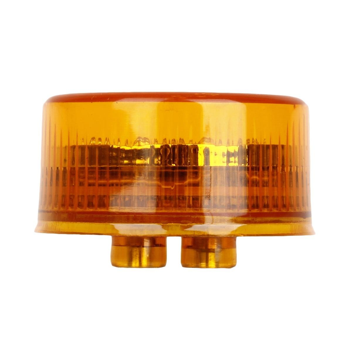 Partsam 4X 2 Round Red//Amber LED Side Marker Light for RV Cars Sealed 2 Inch Round Led Trailer Truck Cab Marker Panel Lights Multi-Faceted