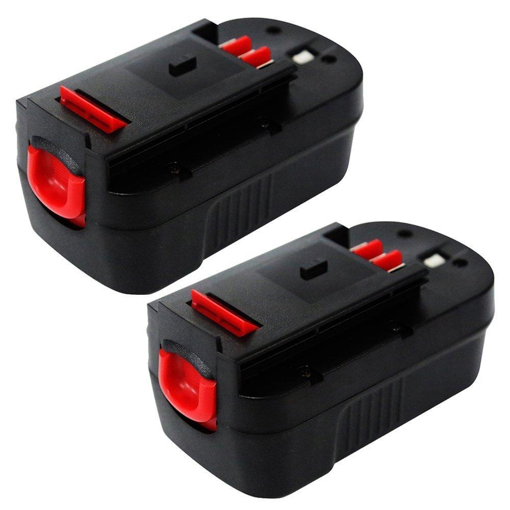enegitech 2 pack battery for black decker 18v 3 0ah hpb18 ope high capacity co ebay. Black Bedroom Furniture Sets. Home Design Ideas