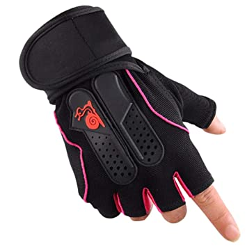 JohnJohnsen Guantes Hombres Mujeres Deportes Gimnasio Guantes ...