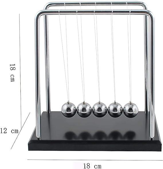 Tian 60 Segundos Swing Pendulo de Newton Grande 18*12*18cm (L*W*H ...