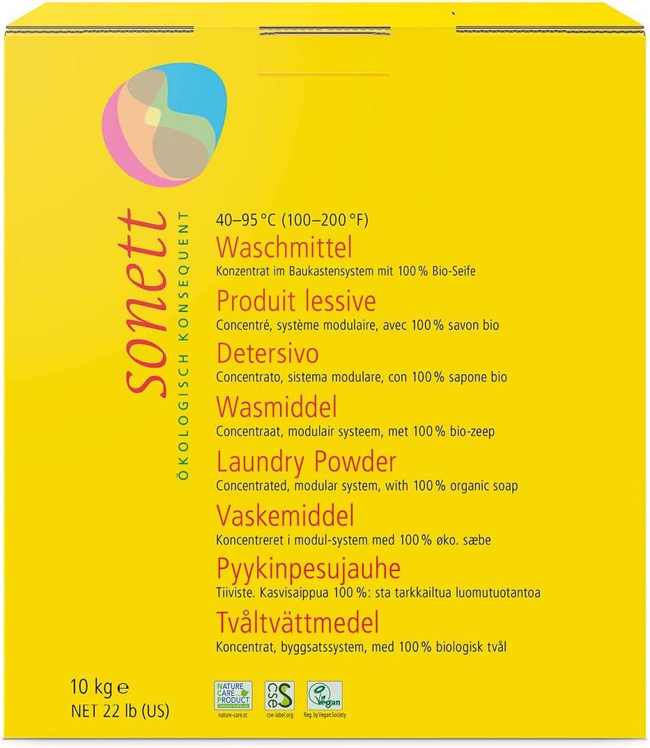 Sonett 6000 - Detergente en Polvo Sonett, 2,4 Kg: Amazon.es ...