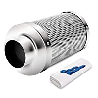 Hon&Guan 6 inch Carbon Filter Odor Control