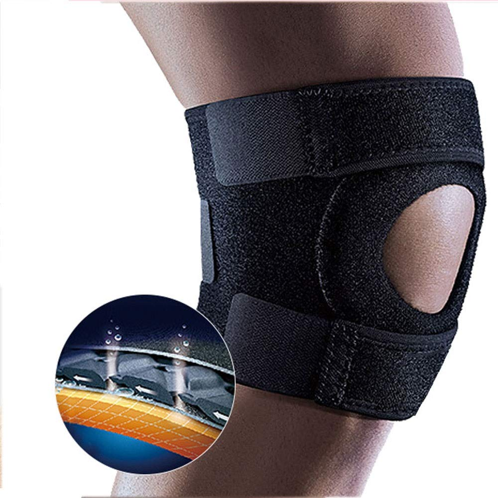 ZCF Basketball Badminton Running Sports Soccer Knee Injuries Men and Women Warm with Meniscus Knee Protectors (Color : C)