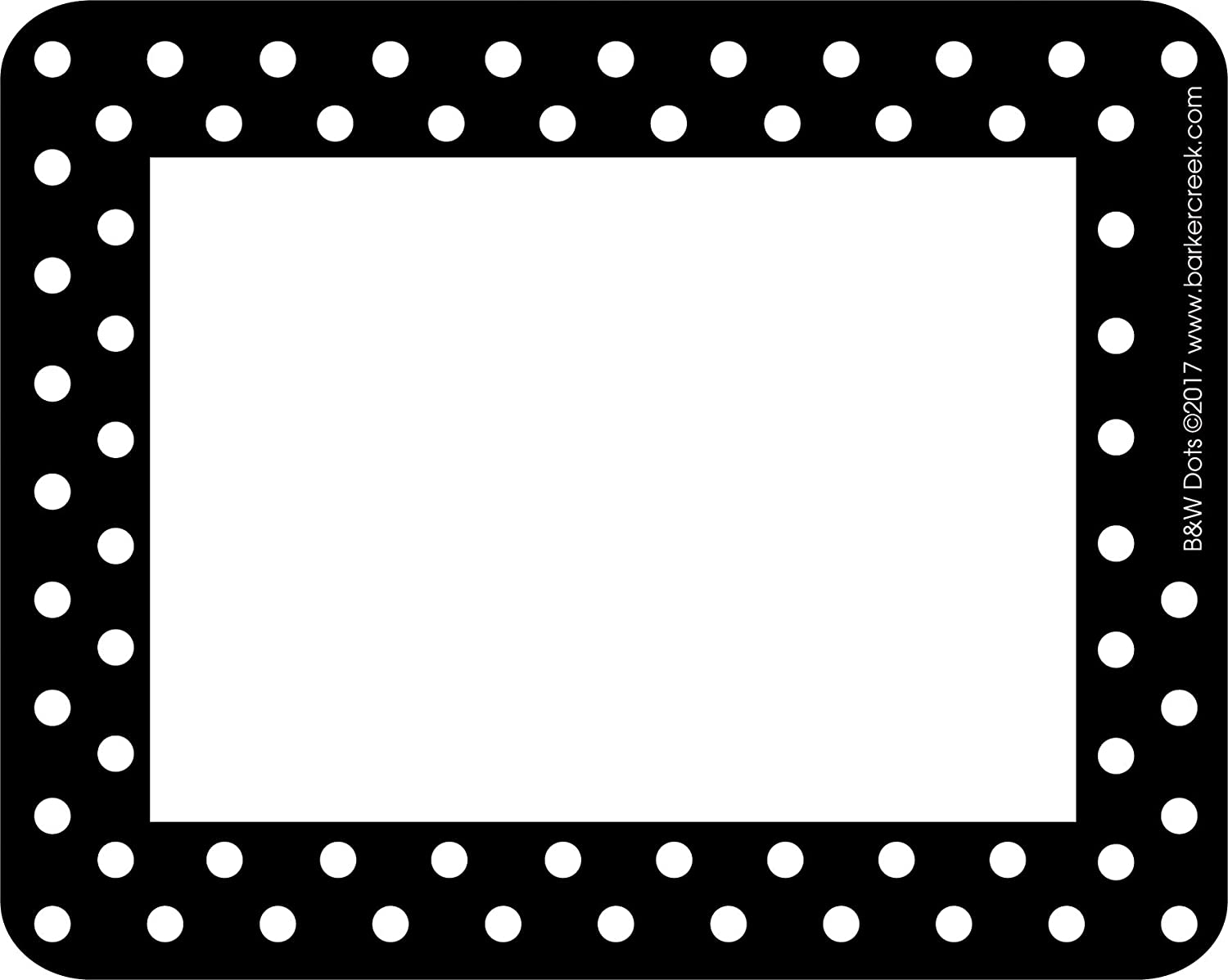 """Barker Creek - Office Products 3-1/2 x 2-3/4"""" Name Badges/Self-Adhesive Labels, 45-Count (LL-1505)"""