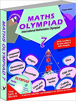 Book International Maths Olympiad - Class 7(with CD)