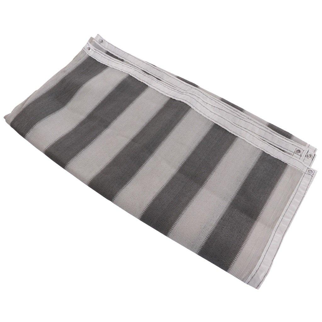 植物のための温室シェード布、ストライプパティオサンセットの屋外60%日焼け止め (サイズ さいず : 2x4m) B07FXKRC2B 2x4m  2x4m