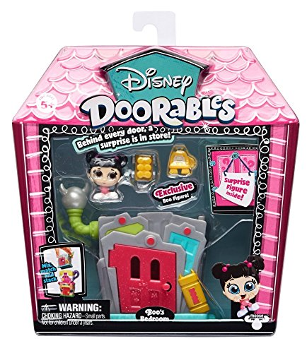 Disney Doorables Mini Stack Playset - Monsters, Inc (Monsters Inc Boo Doll)