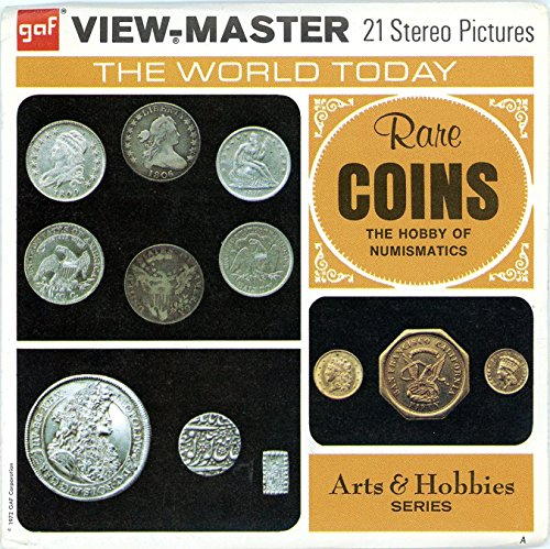 Rare Coins - The Hobby of Numismatics - Classic ViewMaster 3 Reel Packet from 3Dstereo ViewMaster