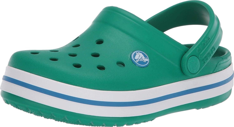 Crocs Baby Kids' Crocband Clog, Deep