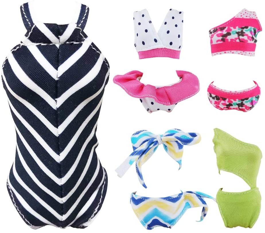 Bikini Suit Beach Vtg 1960s Barbie /& Ken Doll Clothes Pattern ~ Dress Swim