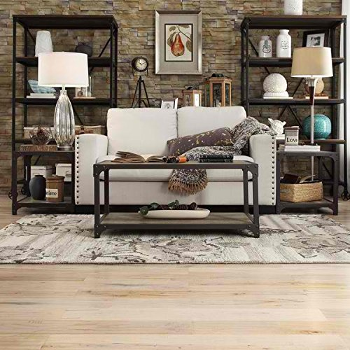 Table / Coffee Tables, Traditional/Shabby Chic Elements Coffee Table in Weathered Finish, Assembly Required (18