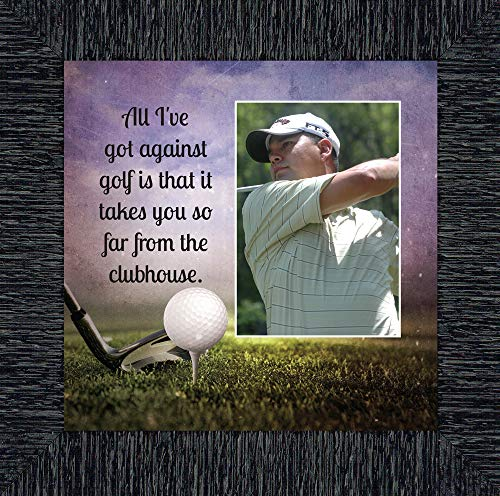 (Personally Yours Golf, Funny Golf Gifts for Men Picture Frame 10X10 6355CH)