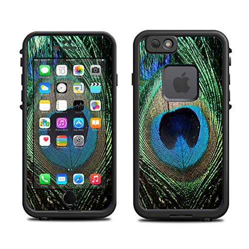 Skin for Lifeproof iPhone 6 Case (skins/decals only) - Peacock Feather Design