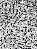 2 Lb. 3/16'' X 3/8'' Abrasive Ceramic Tumbling Tumbler Tumble Media M-GENERAL PURPOSE