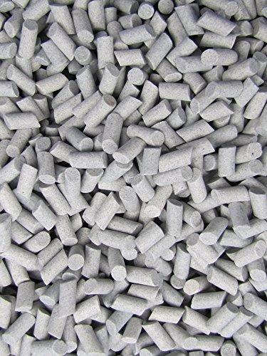 "Algrium Glassworks 3 Lb. 3/16"" X 3/8"" Abrasive Ceramic Tumbling Tumbler Tumble Media M-GENERAL PURPOSE price tips cheap"