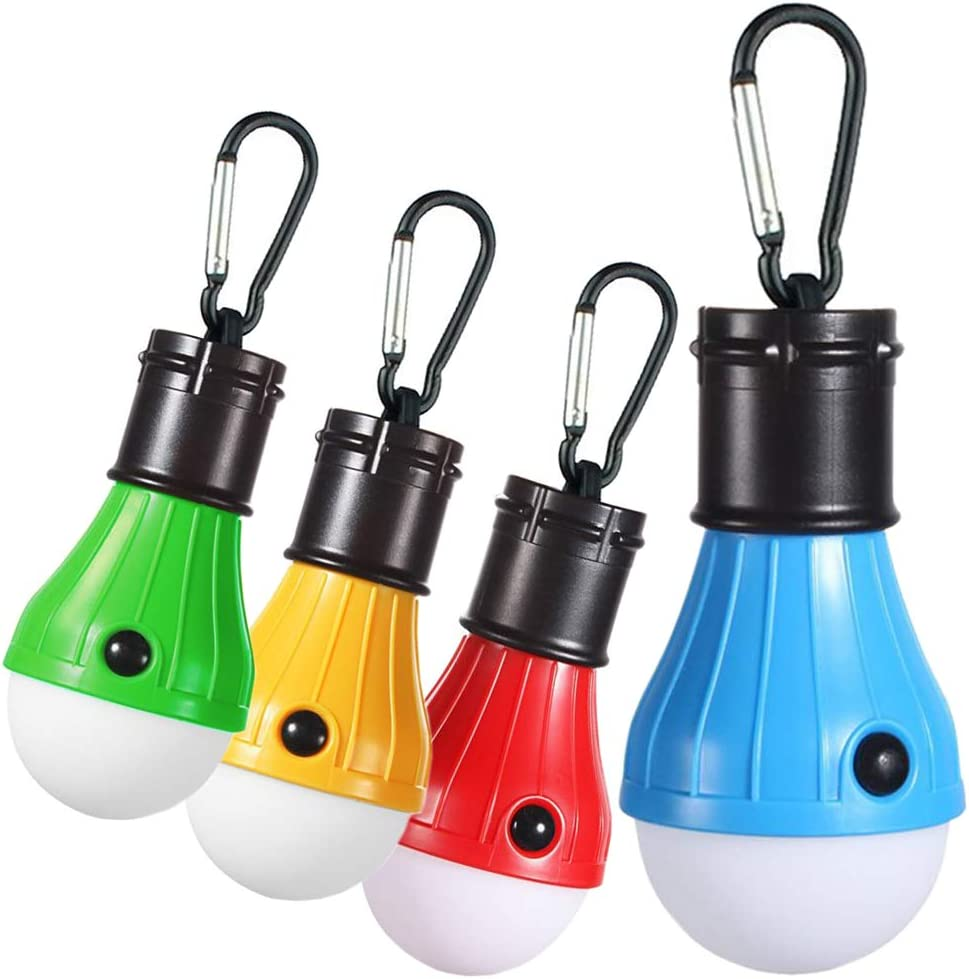 Zoojee Studio 1 Pack 2 Pack 4 Pack LED Camping Lantern-Solar USB Rechargeable Camping Lamp-Battery Powered Camping Tent Lights-Hurricane Lantern, Emergency lamp, Outage Lantern