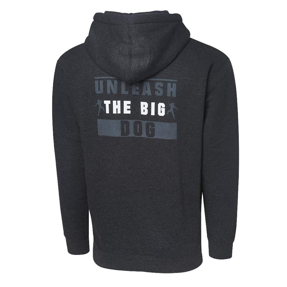 WWE Roman Reigns Unleash The Big Dog Full Zip Hoodie Sweatshirt